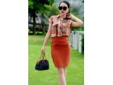 MAYA Duffle bag - In Natural Milled Leather - Orange Red
