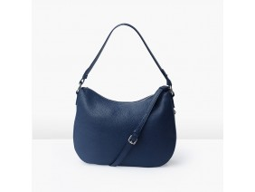 LUNA Hobo - In Natural Milled Leather - Blue Navy,  GX01-71