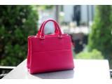 SPRING Satchel bag - In Natural Milled Leather - Pink