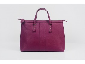 ORATOR - In Natural Milled Leather - Purple
