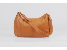 VARIA Hobo - In Natural Milled Leather - Brown- GQ01-20