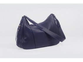 VARIA Hobo - In Natural Milled Leather - Blue Navy- GQ01-71