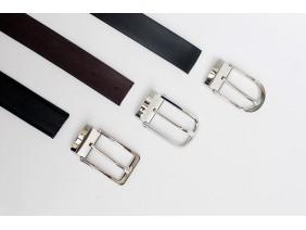 HUNTER - Dây thắt lưng nam da thật mặt khóa Inox - FQBE11, FQBE08, FQBE43 + F35110