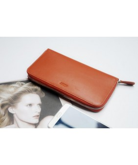 LEWA  - In Natural Milled Leather - Orange
