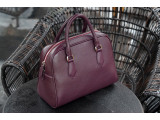 MOLLU Shell - In Natural Milled Leather - Purple