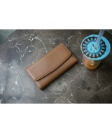 ALIS-In Natural Milled Leather -Brown