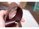 KONG -Dây thắt lưng nam da thật 1 lớp nguyên miếng  Màu đen - YJ63-10