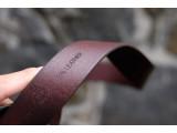 KONG -Dây thắt lưng nam da thật 1 lớp nguyên miếng Màu nâu - YJ70-20