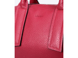 ELMO Crossbody - In Natural Milled Leather - Red